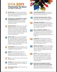 50 Fundraising Tips